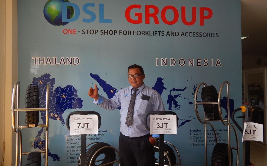 PT DSL Jadi Authorized Distributor Ban Radial OTR Triangle di Indonesia