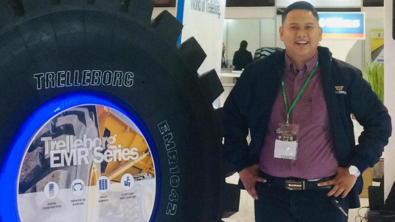 Bidik Segmen Tambang, Trelleborg Indonesia Mulai Pasarkan Ban OTR Earthmover Radial Series
