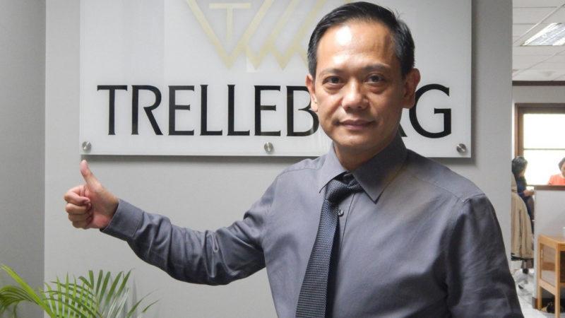 Cocok Di Palm Oil, PT Trelleborg Indonesia Tawarkan Ban Tracktor Trelleborg Dengan Konsep Low Ground Pressure Tire