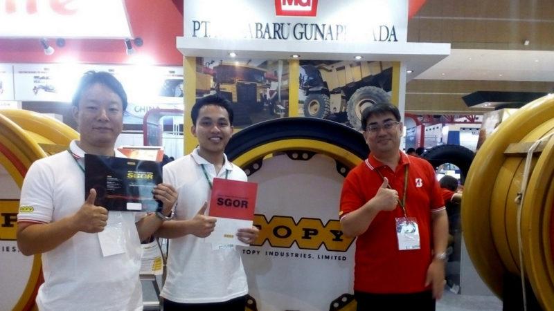 Hadir di Mining Indonesia 2019: Wheel Maker Asal Jepang, TOPY, Perkenalkan Line Up Produknya Untuk Segmen Tambang dan Armada Logistik