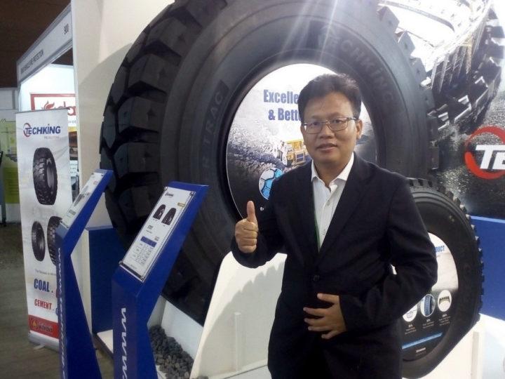 Debut di Mining Expo 2019, Intraco Penta Wahana Launching Giant Tire Techking