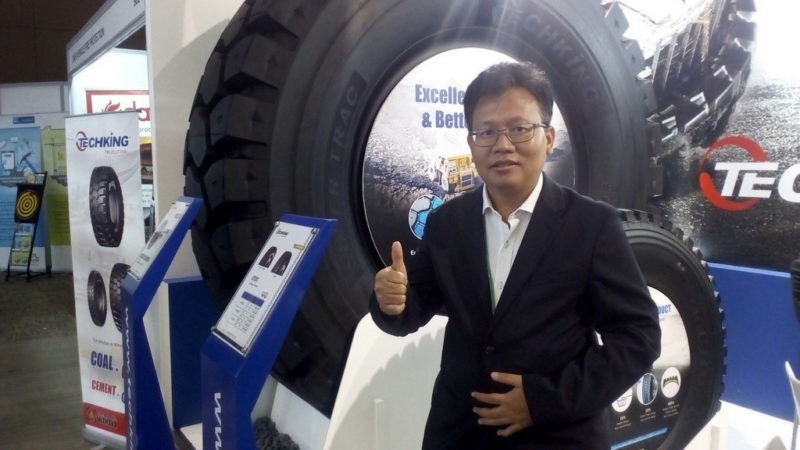 Debut di Mining Expo 2019, Intraco Penta Wahana Launching Giant Tire Techking