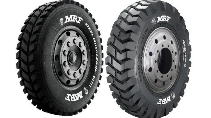 Mulai Serius Garap Segmen Mining, Everseiko Indonesia Pajang Giant Tire MRF TYRES di Mining Expo 2019