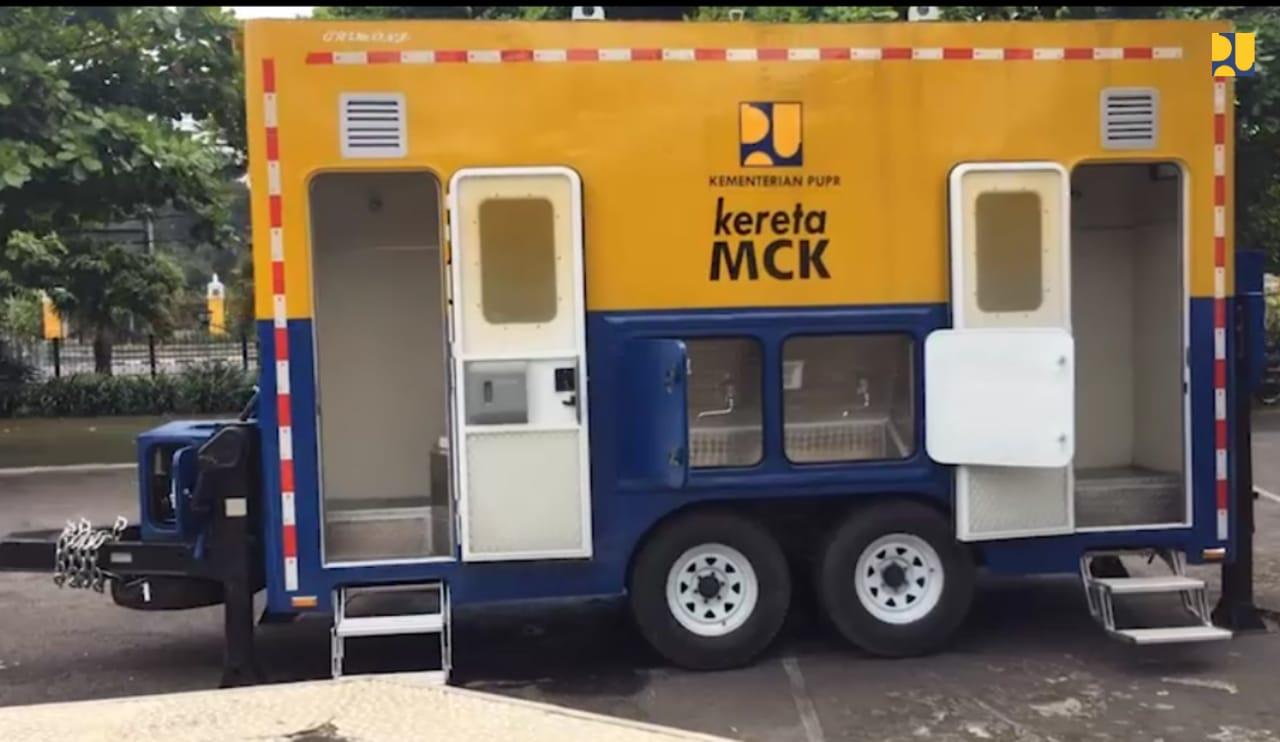 Kemenpupr Perkenalkan Kereta MCK Mobile